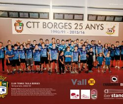 Club Tennis Taula Borges 2018/19